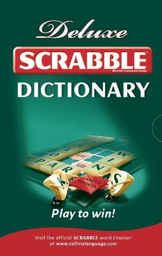 9780007333493: Collins Scrabble Dictionary: Deluxe edition