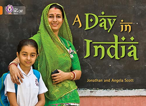 9780007336111: A Day in India (Collins Big Cat)