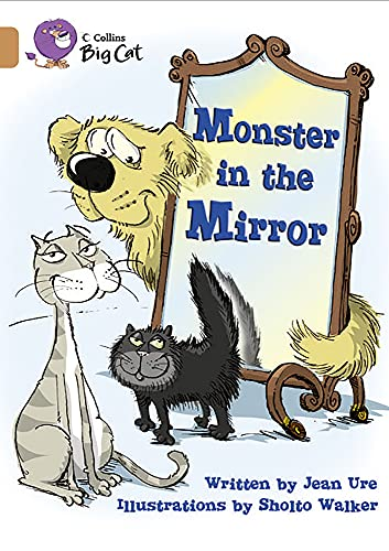 9780007336234: Collins Big Cat - Monster in the Mirror: Band 12/Copper