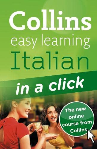 9780007337415: Italian in a Click (Collins Easy Learning Italian)