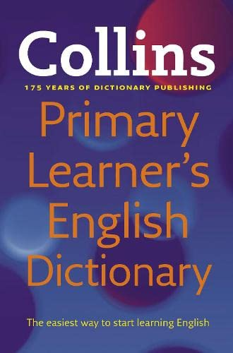 9780007337552: Collins Primary Learner's English Dictionary