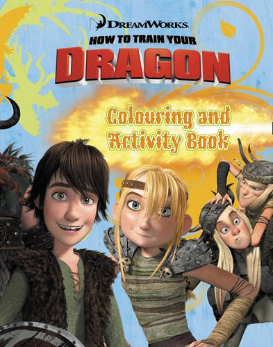 9780007338009: How to Train Your Dragon - Colouring and Activity Book