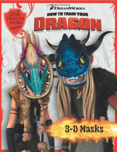 9780007338016: 3D Masks Book (How to Train Your Dragon)