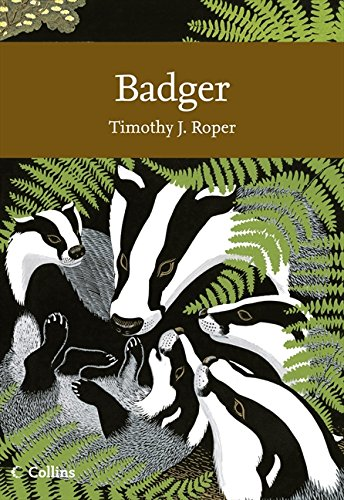 9780007339778: Badger (Collins New Naturalist)