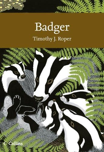 9780007339778: Badger (Collins New Naturalist)