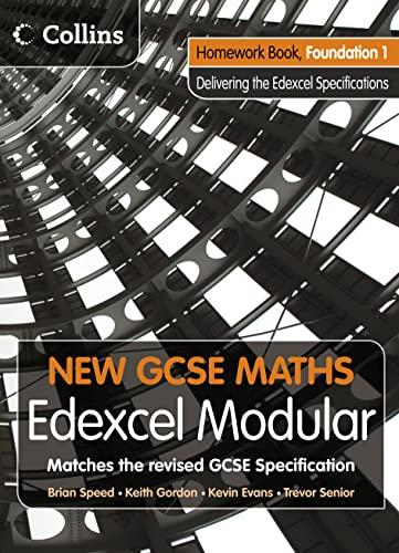 9780007339877: New GCSE Maths - Homework Book Foundation 1: Edexcel Modular (B)