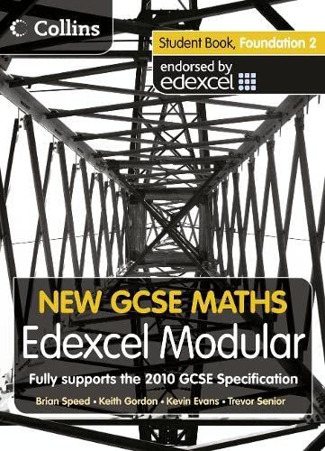 9780007339907: New GCSE Maths - Student Book Foundation 2: Edexcel Modular (B)