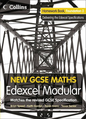 9780007339914: New GCSE Maths: Homework Book Foundation 2: Edexcel Modular (B)