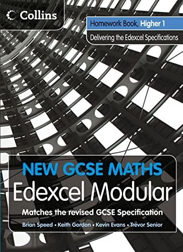 9780007339952: New GCSE Maths - Homework Book Higher 1: Edexcel Modular (B)