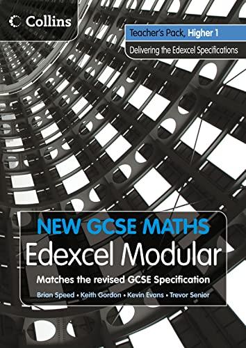 9780007339969: Teacher's Pack Higher 1: Edexcel Modular (B) (New GCSE Maths)