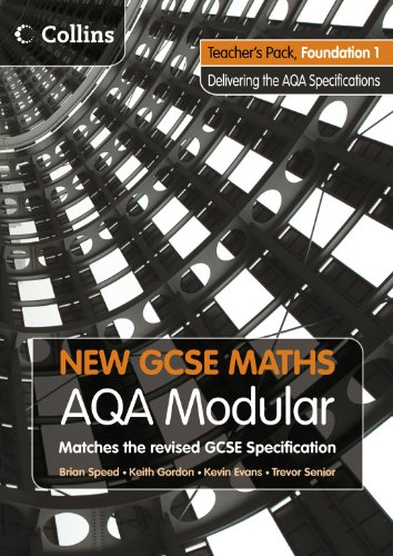 9780007340040: New GCSE Maths: Teacher's Pack Foundation 1: AQA Modular