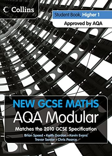 9780007340101: New GCSE Maths - Student Book Higher 1: AQA Modular
