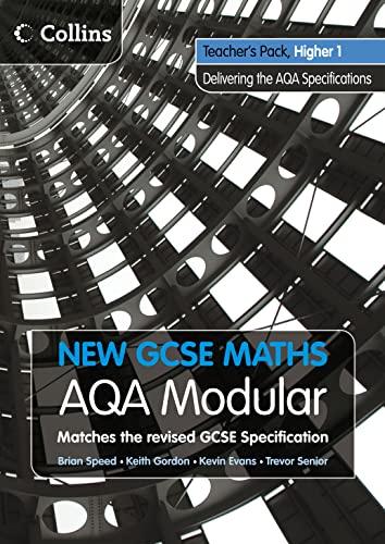 9780007340125: New GCSE Maths - Teacher's Pack Higher 1: AQA Modular