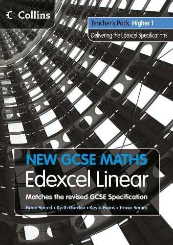 9780007340286: New GCSE Maths - Teacher's Pack Higher 1: Edexcel Linear (A)