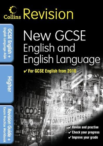 9780007341016: GCSE English & English Language for AQA: Higher: Revision Guide and Exam Practice Workbook (Collins GCSE Revision)