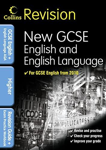 9780007341016: Collins Revision - Gcse English & English Language For Aqa: Higher