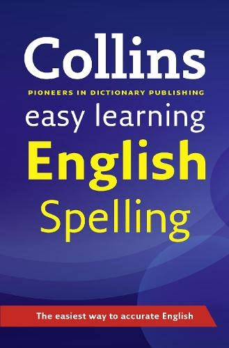 9780007341177: Easy Learning English Spelling (Collins Easy Learning English)