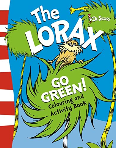 The Lorax Go Green Activity Book (Paperback): Dr. Seuss