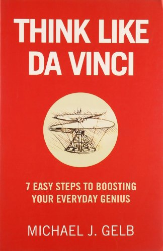 9780007341696: Think Like Da Vinci: 7 Easy Steps to Boosting Your Everyday Genius