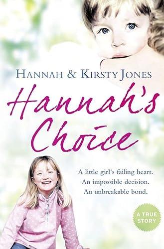 9780007342365: Hannah's Choice