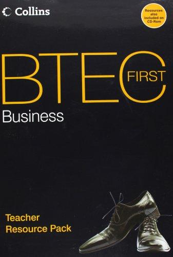 9780007342709: BTEC First Business - Teacher Resource Pack