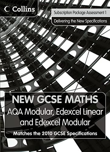9780007344918: New GCSE Maths - Subscription Package Assessment 1: AQA Modular, Edexcel Linear and Edexcel Modular