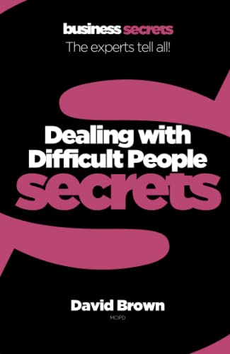 9780007346776: Dealing With Difficult People (Collins Business Secrets)