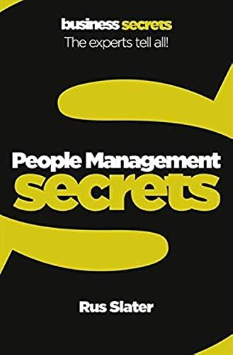 9780007346783: People Management (Collins Business Secrets)