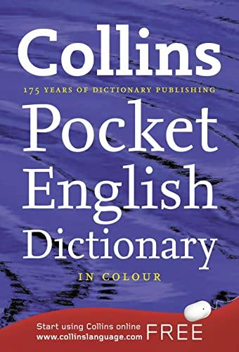 9780007347285: Collins Pocket English Dictionary