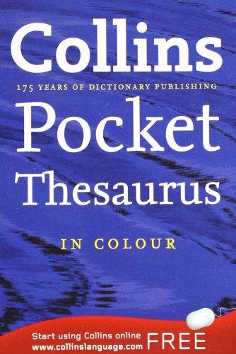9780007347292: Collins Pocket Thesaurus
