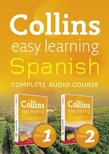 9780007347780: Collins Easy Learning Audio Course: Complete Spanish (Stages 1 & 2) Box Set