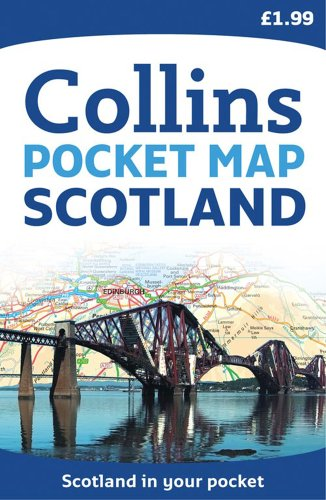 9780007349227: Scotland Pocket Map