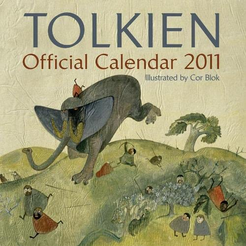 9780007351138: Official Tolkien Calendar 2011: The Lord of the Rings