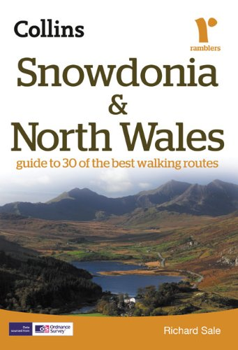9780007351404: Snowdonia and North Wales (Collins Rambler's Guides:)