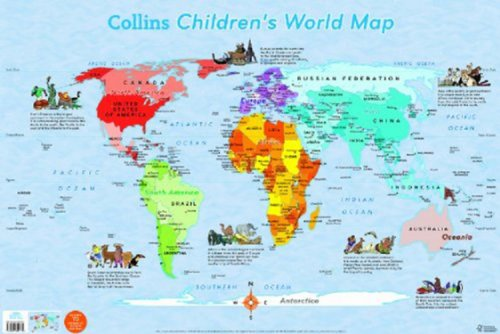 9780007352739: Collins Children's World Map (Collins Primary Atlases)