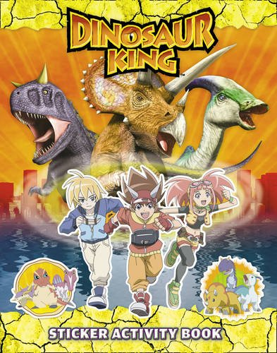9780007352944: Dinosaur King - Dinosaur King: Sticker Activity Book