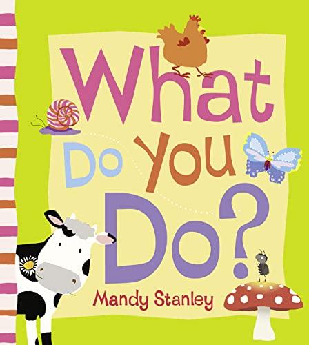 9780007353538: What Do You Do?
