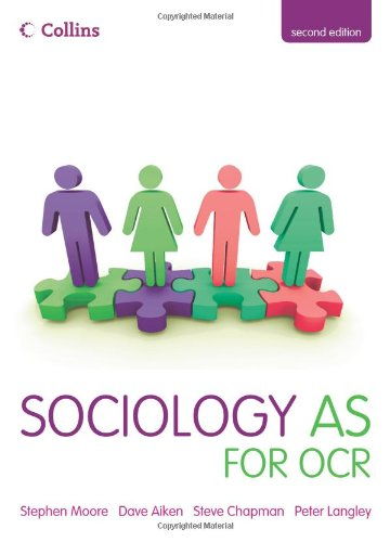9780007353736: Collins A Level Sociology - Sociology AS for OCR
