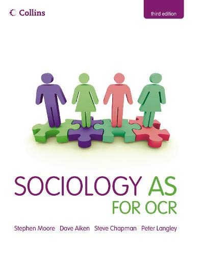 9780007353736: Sociology AS for OCR (Collins A Level Sociology)