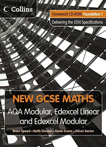9780007353750: New GCSE Maths - Homework VLE Foundation 1: Edexcel and AQA