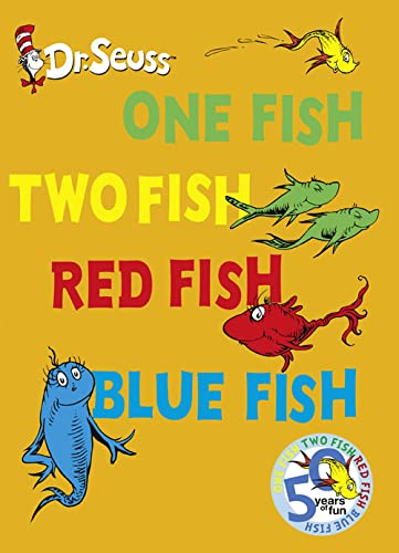 9780007354818: One Fish, Two Fish, Red Fish, Blue Fish (Dr Seuss)