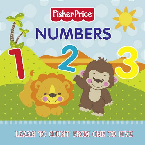 9780007355884: Fisher-Price - Numbers Board Book