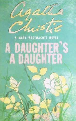 9780007357918: daughter's a daughter, a