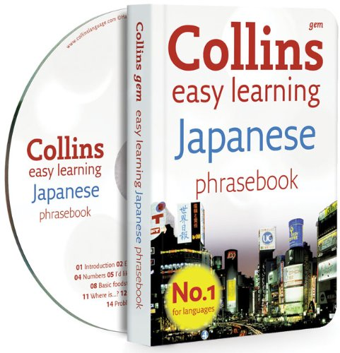 9780007358465: Collins Gem Easy Learning Japanese Phrasebook and CD Pack