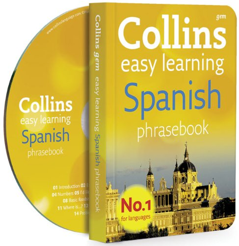 9780007358472: Collins Gem Easy Learning Spanish Phrasebook and CD Pack