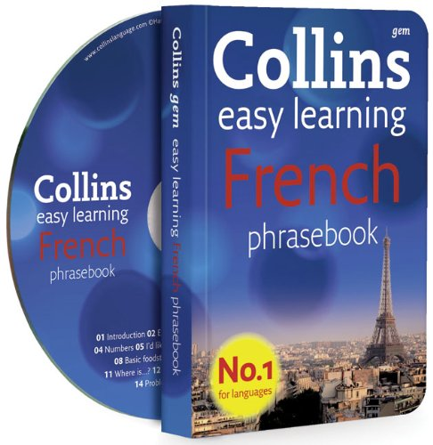 9780007358489: Collins Gem Easy Learning French Phrasebook and CD Pack