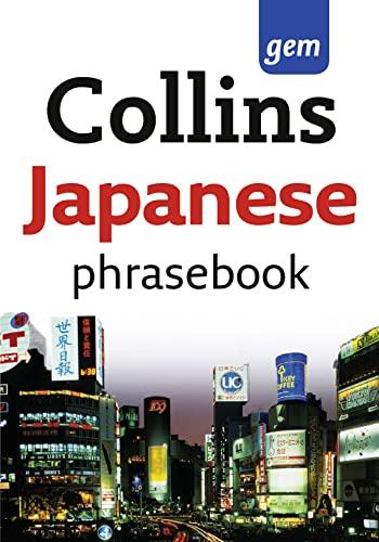 9780007358502: Collins Gem Easy Learning Japanese Phrasebook
