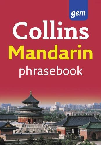 9780007358519: Collins Gem Easy Learning Mandarin Phrasebook
