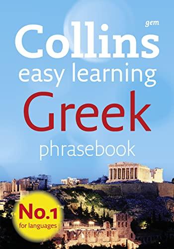 9780007358526: Collins Gem Easy Learning Greek Phrasebook