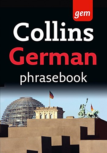 9780007358557: Collins German Phrasebook (Collins Gem)